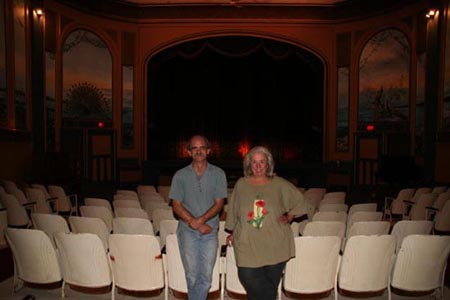 Grand ol' dame: The Patricia theatre holds a special place for Brian Nelson and Ann Nelson.