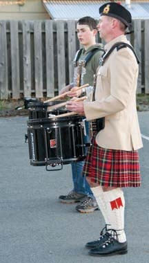Music, camaraderie and pageant: The Clansman Pipe Band welcomes everyone who is interested in the music and traditions of Scotland.
